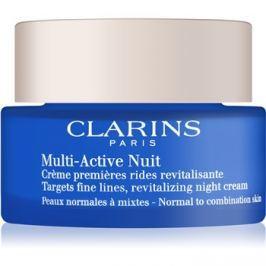 Clarins Multi-Active Revitalizáló éjszakai krém a finom vonalakért. normál és kombinált bőrre  50 ml