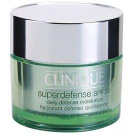 Clinique Superdefense nappali hidratáló és ápoló krém kombinált és zsíros bőrre SPF 20  50 ml