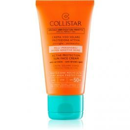 Collistar Sun Protection ránctalanító napozókrém SPF50+  50 ml