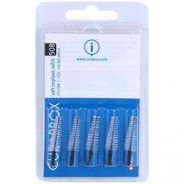 Curaprox Soft Implantat CPS Spare Interdental fogkefék az implantátumok tisztítására 5 db CPS 508 2,0 - 4,5-8,5 mm