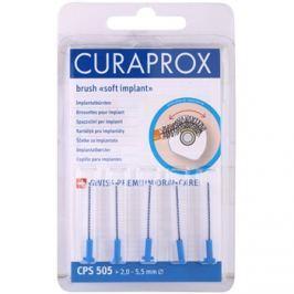 Curaprox Soft Implantat CPS Spare Interdental fogkefék az implantátumok tisztítására 5 db CPS 505 2,0 - 5,5 mm