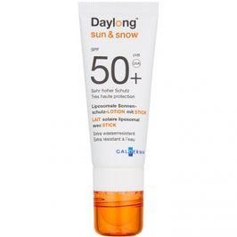 Daylong Sun & Snow A liposzómás védő krém arcra és ajkakra 2 az 1-ben SPF50+  3 g + 20 ml