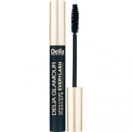 Delia Cosmetics Glamour dúsító, hosszabbító szempillaspirál, mely szétválasztja a pillákat árnyalat Black 11 ml