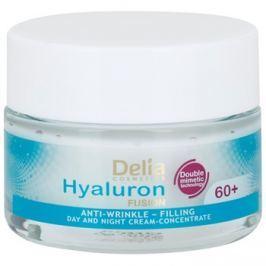 Delia Cosmetics Hyaluron Fusion 60+ a bőr sűrűségét megújító ránc elleni krém  50 ml