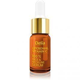Delia Cosmetics Professional Face Care Vitamin C bőrélénkítő szérum C-vitaminnal arcra, nyakra és dekoltázsra  10 ml