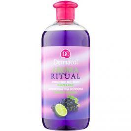 Dermacol Aroma Ritual stresszoldó fürdőhab szőlő és lime  500 ml