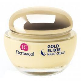 Dermacol Gold Elixir éjszakai fiatalító krém kaviárral  50 ml