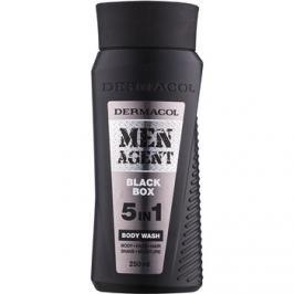 Dermacol Men Agent Black Box tusoló gél  5 in 1  250 ml