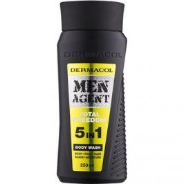 Dermacol Men Agent Total Freedom tusoló gél  5 in 1  250 ml