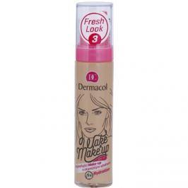 Dermacol Wake & Make-Up élénkítő make-up azonnali hatással árnyalat 3 (SPF 15) 30 ml
