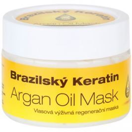 Dermagen Brazil Keratin Argan Oil tápláló regeneráló maszk minden hajtípusra  260 ml