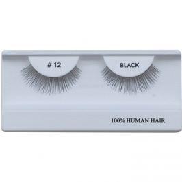 Diva & Nice Cosmetics Accessories ragasztható műszempilla természetes hajból No. 12