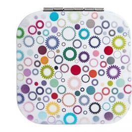 Diva & Nice Cosmetics Accessories négyzet alakú kozmetikai tükör (6,8 x 6,8 cm)