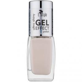 E style Gel Effect géles körömlakk UV/LED lámpa használata nélkül árnyalat 20 Pearl 10 ml