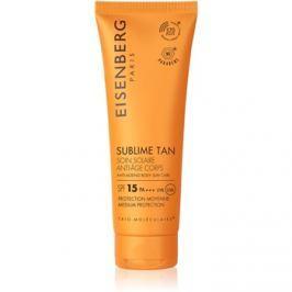 Eisenberg Sublime Tan napkrém a testre ránctalanító hatással SPF15  100 ml