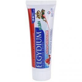 Elgydium Kids fogkrém gyermekeknek íz Grenadine (2-6) 50 ml