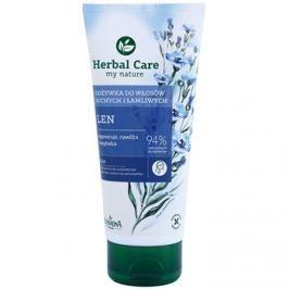 Farmona Herbal Care Flax Seed regeneráló kondicionáló száraz és törékeny hajra  200 ml