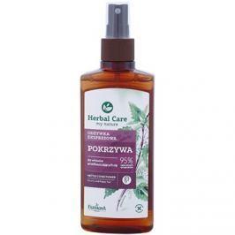 Farmona Herbal Care Nettle öblítést nem igénylő spray kondicionáló zsíros hajra és fejbőrre  200 ml