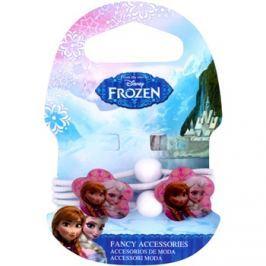 Frozen Princess hajgumi virággal 3 éves kortól (White) 4 db