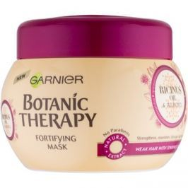 Garnier Botanic Therapy Ricinus Oil erősítő maszk a gyenge, hullásra hajlamos hajra  300 ml