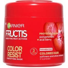 Garnier Fructis Color Resist tápláló maszk a szín védelméért  300 ml