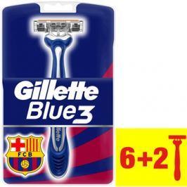 Gillette Blue 3 FCBarcelona eldobható borotva  8 db