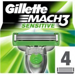 Gillette Mach 3 Sensitive tartalék pengék 4 db  4 db