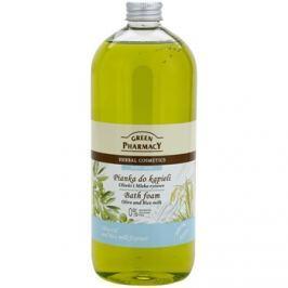 Green Pharmacy Body Care Olive & Rice Milk habfürdő  1000 ml