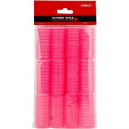 Chromwell Accessories Pink Öntapadós hajcsavarók ( ø 25 x 63 mm ) 12 db