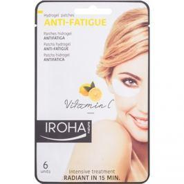 Iroha Anti - Fatigue Vitamin C hidrogél maszk a szem körül 3 x 2 db