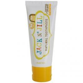 Jack N' Jill Natural természetes fogkrém gyermekeknek banán ízesítéssel  50 g