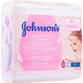 Johnson's Baby Diapering nedves törlőkendők  224 db
