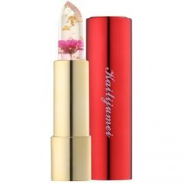 Kailijumei Limited Edition átlátszó ajakrúzs virággal árnyalat Flame Red  3,8 g