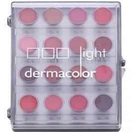 Kryolan Dermacolor Light paletta 16 árnyalatú rúzs  11 g