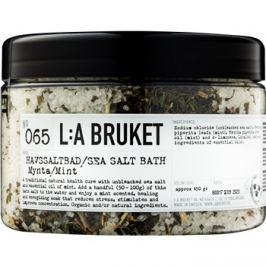 L:A Bruket Spa fürdősó borsmentával  450 g