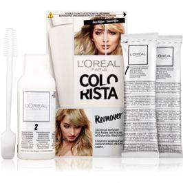 L'Oréal Paris Colorista Remover festékeltávolító készítmény hajra hajra 2 x 15 g + 60 ml