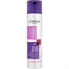 L'Oréal Paris Studio Line Silk&Gloss Volume spray  dús és fényes hajért  250 ml