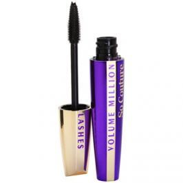L'Oréal Paris Volume Million Lashes So Couture dúsító és göndörítő szempillaspirál árnyalat Black 9,5 ml