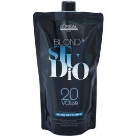 L'Oréal Professionnel Blond Studio Nutri Developer színelőhívó emulzió 6 % 20 Vol. 1000 ml