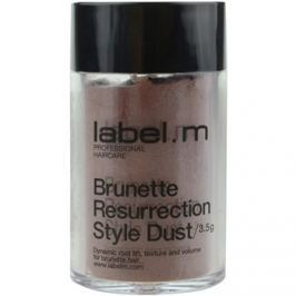 label.m Complete hajpúder a barna árnyalatú hajra  3,5 g