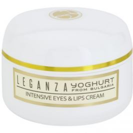 Leganza Yoghurt intenzív krém a szem köré és a szájra  30 ml