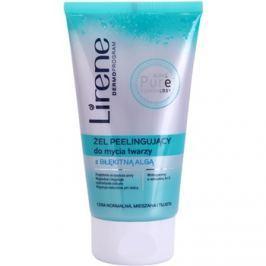 Lirene Algae Pure tisztító peelinges gél kisimító hatással  150 ml