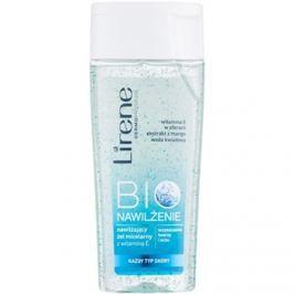 Lirene Bio Hydration tisztító micelláris gél az arcra és a szemekre  200 ml