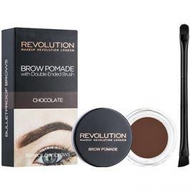 Makeup Revolution Brow Pomade szemöldök pomádé árnyalat Chocolate 2,5 g