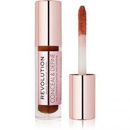 Makeup Revolution Conceal & Define folyékony korrektor árnyalat C15 3,4 ml