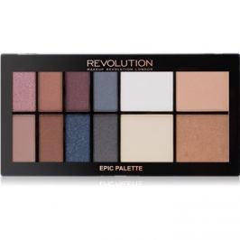 Makeup Revolution Epic Nights multifunkciós arc paletta  20,5 g