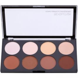 Makeup Revolution Iconic Lights and Countour Pro arckontúr paletta  13 g