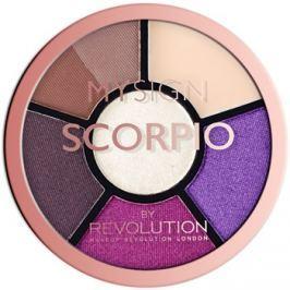 Makeup Revolution My Sign szemhéjfesték paletta árnyalat Scorpio  4,6 g