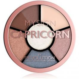 Makeup Revolution My Sign szemhéjfesték paletta árnyalat Capricorn 4,6 g