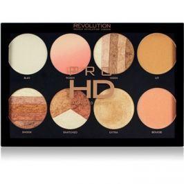 Makeup Revolution Pro HD Brighter Than My Future bőrvilágosító paletta 8 x 4 g